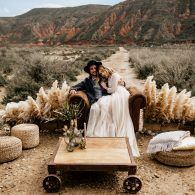 Styled shoot Bardenas Reales with Chris&Ruth Photography